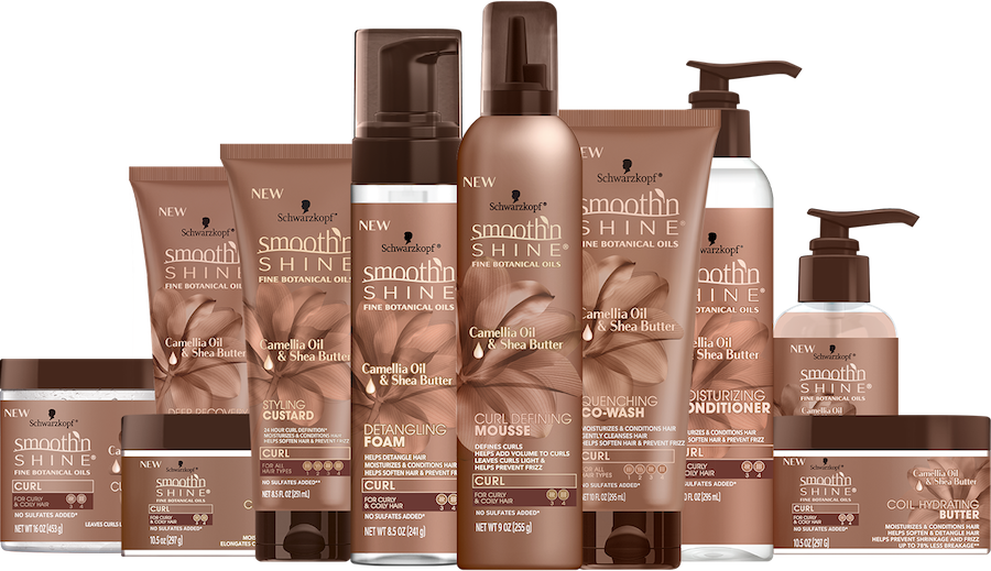 Smooth 'N Shine Hair products for curly hair