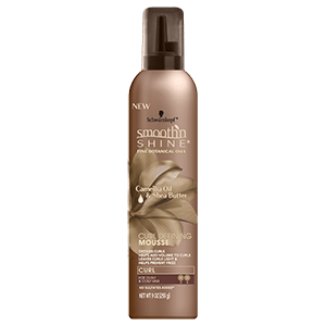 Curl defining mousse with Camellia Oil & SheaButter