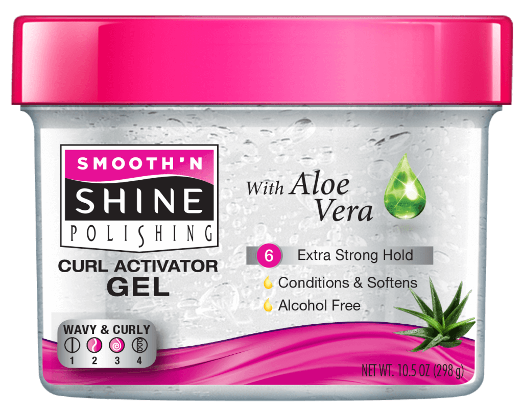 Curl Activator Gel With Aloe Vera Smooth N Shine